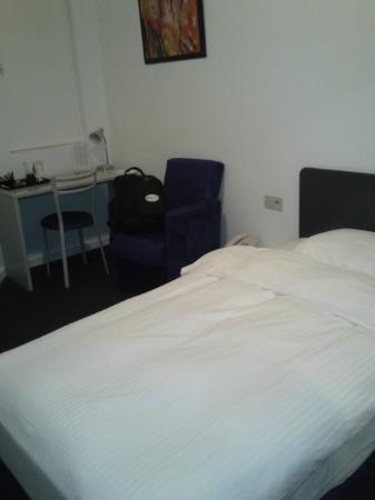 Hotel Argus Brussels: camera