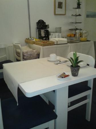 Hotel Argus Brussels: particolare sala colazione