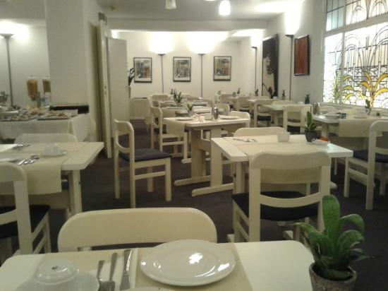 Hotel Argus Brussels: sala colazione