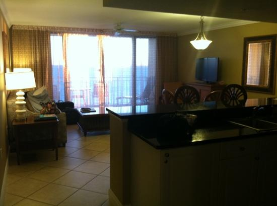 Wyndham Vacation Resorts Panama City Beach: livingroom