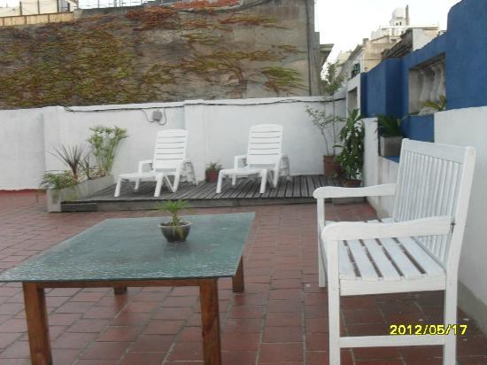 Che Argentina Hostel Suites: Terraza / Solarium