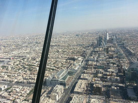 Kingdom Centre: The view from the top