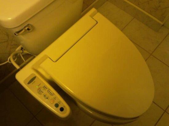 Miyako Hybrid Hotel: Japanese Toilet