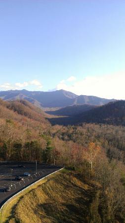 Park Vista - DoubleTree by Hilton Hotel - Gatlinburg : View from 12th floor room, mountain view