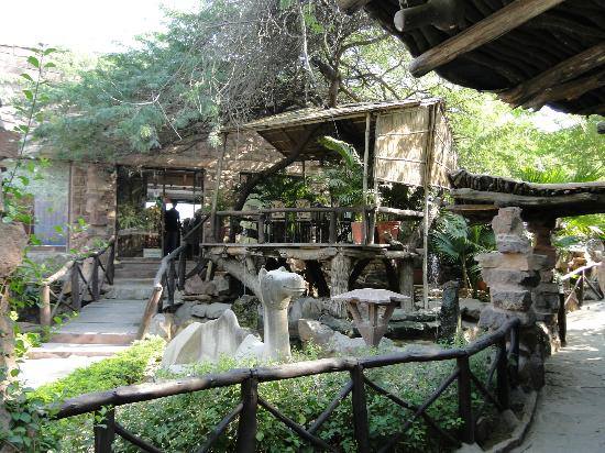entrance to restaurant - Picture of On the Rocks, Jodhpur ...