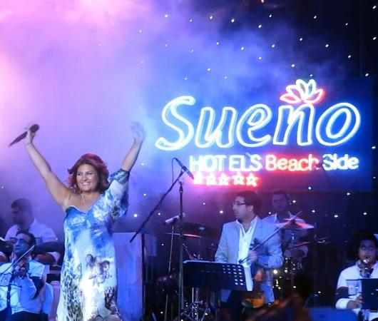 Harika Konserler Picture Of Sueno Hotels Beach Side Sorgun