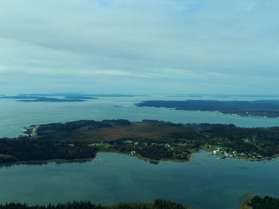 Acadia Air Tours: View from plane