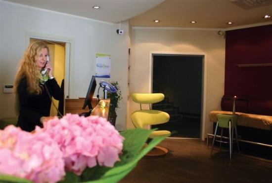 Sandviken Brygge Hotel: Reception