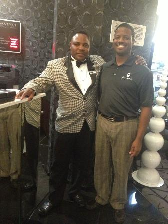 DaVinci Hotel and Suites: Samuel, A great guy