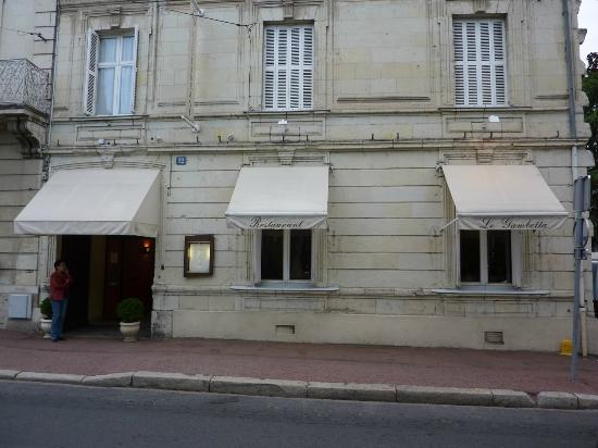 Restaurant Le Gambetta : The restaurant from outside