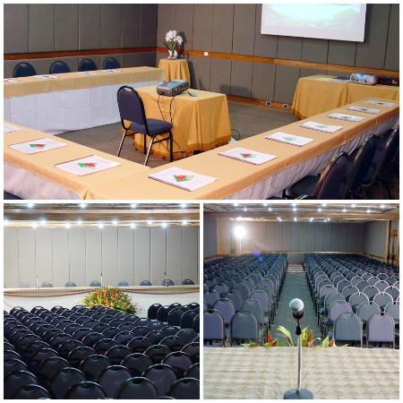 Da Vinci Hotel & Conventions: Salão Donatello, Nicolas & Van Gough