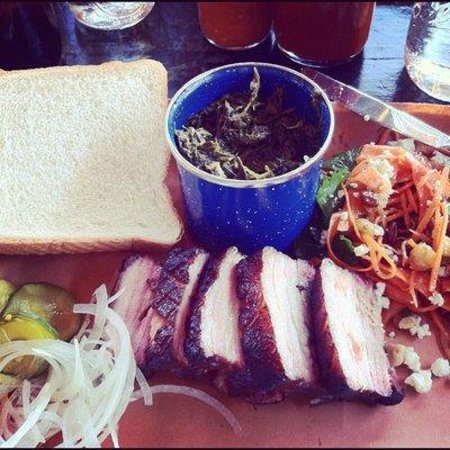 Sweet Cheeks Q: Pork Belly and sides