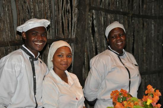 Michamvi Sunset Bay Resort: tolles Küchenteam