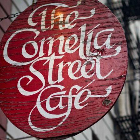 Photo of American Restaurant The Cornelia Street Cafe at 29 Cornelia St, New York, NY 10014, United States
