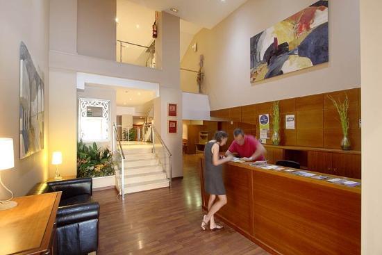 Hotel Suite Camarena Plaza: Interior