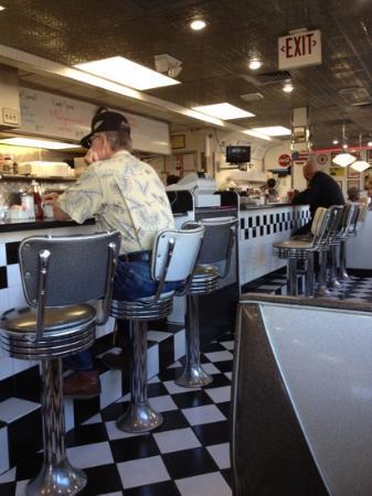 Penny's Diner: inside shot
