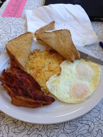 Penny's Diner: 3:10 to Yuma breakfast item