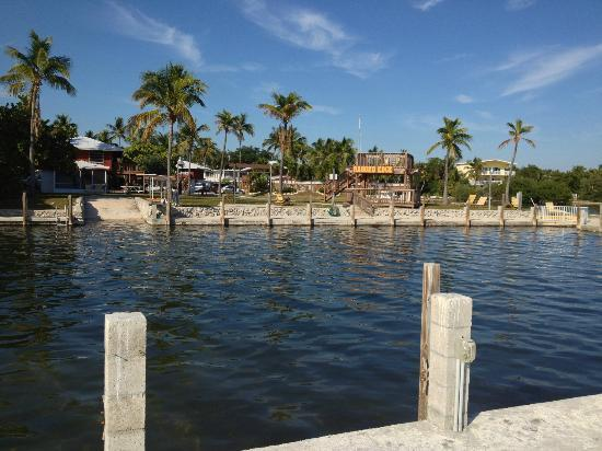 Ragged Edge Resort & Marina: View from the boat/fishing dock