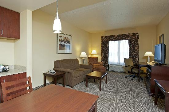 Hampton Inn Indianapolis Northwest - Park 100: Large Two-Room Suite - Living Area w/ Pull-Out Sofa