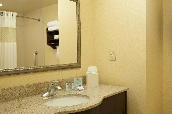 Hampton Inn Indianapolis Northwest - Park 100: Spacious Bathroom