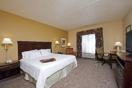 Hampton Inn Indianapolis Northwest - Park 100: Spacious Accessible King Guest Room