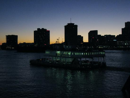 Bluegreen Vacations Club La Pension, Ascend Resort Collection: New Orleans skyline and river boat on the Mississippi