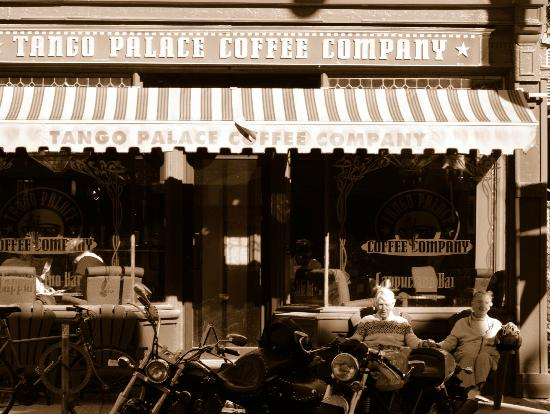 Photo of Cafe Tango Palace Coffee Company at 1156 Queen Street East, Toronto M4M 1L2, Canada