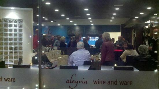 Alegria Wine and Ware: a peak in