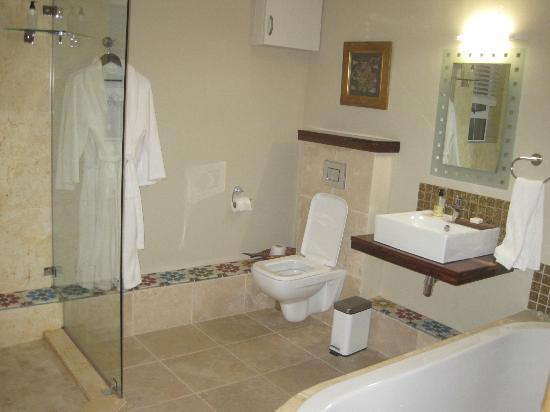 Dolphin Inn Guesthouse, Mouille Point: Bathroom of seaview suite