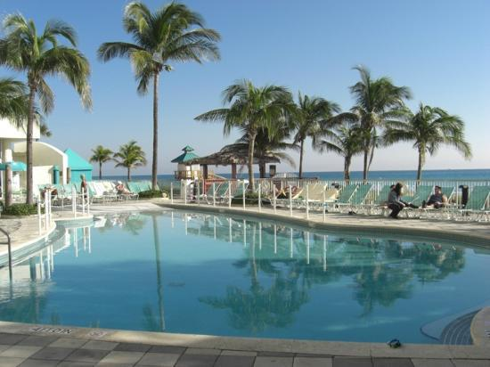 Doubletree Resort Spa By Hilton Ocean Point North Miami Beach Pool Looking Toward