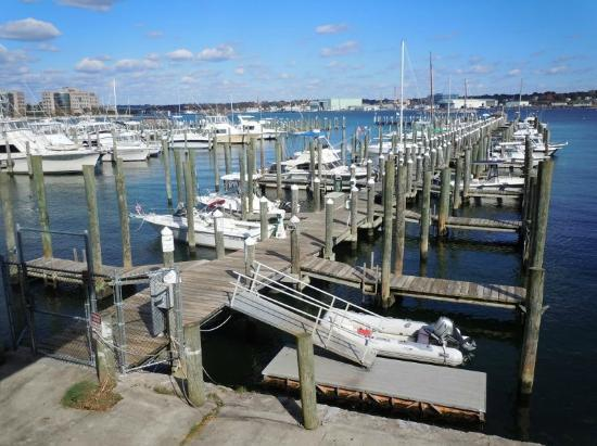 Fred's Shanty: View from the outdoor dining area