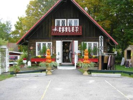 The Chalet Antiques Barn & Museum: 2 floors inside the Shop Including Alaskan Museum