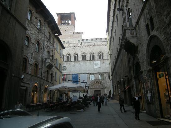 Ingresso della Galleria Nazionale dell'Umbria