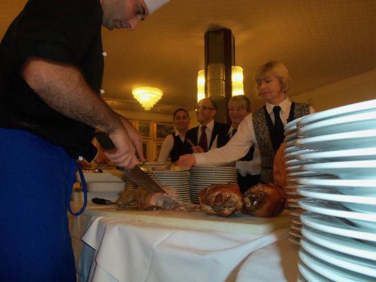 Hotel Eliseo Terme: Parte della crew del ristorante