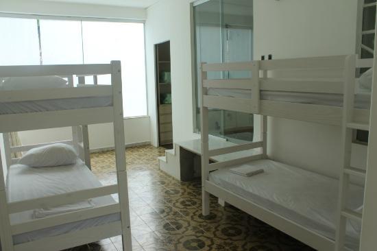 Ginga Hostel: Dormitório 4 camas