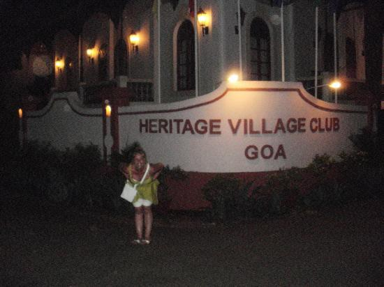 Heritage Village Club Goa: front