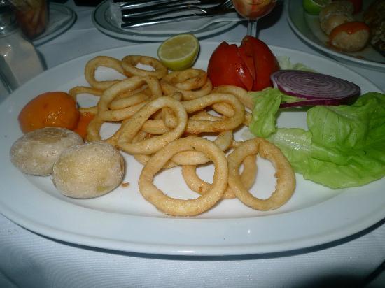 El Capitan Restaurante: Squid