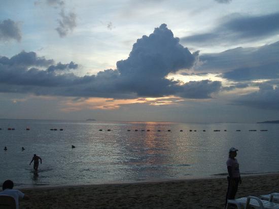 Rabbit Resort: smuk solnedgang