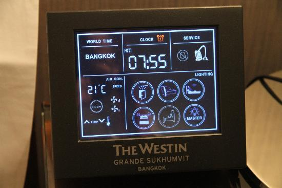 The Westin Grande Sukhumvit: Star trek console