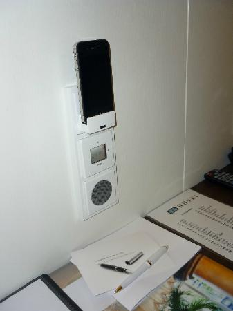 Exzellenz Hotel: iPod Ladestation