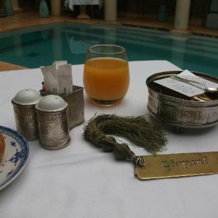 La Sultana Marrakech: nuestro desayuno