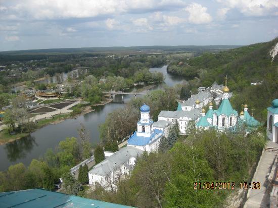 Sviatohirsk, Ukraina: Святогорская Успенская лавра