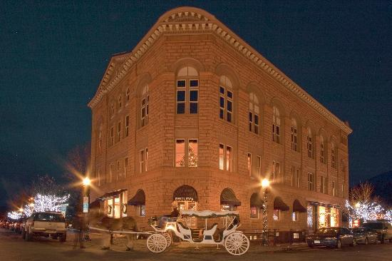 Wheeler Opera House: Visit the Wheeler during the holiday season for the best view of all the holiday lights