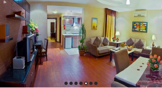 Boudl Al-Masif: Guest Lounge