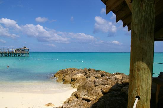 Sandals Royal Bahamian Spa Resort & Offshore Island: BEAUTIFUL SEAVIEW AND BEACH AREA