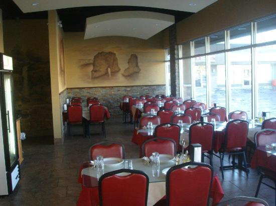 Lebanese Village: The Restaurant from the inside
