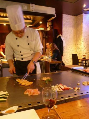 Teppanyaki Restaurant Paris