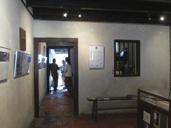No 8 Heeren Street Heritage Centre: In the front area