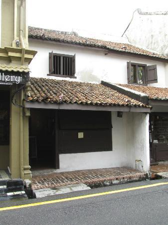 No 8 Heeren Street Heritage Centre: The frontage