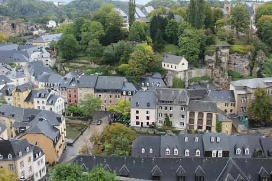bird's eye view of grund